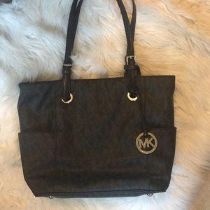 7a779dffc511 Women Silver Metallic Michael Kors Bag on Poshmark